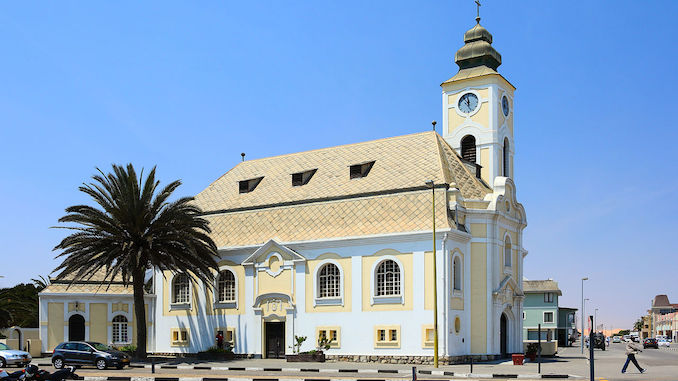 Lutheran church in Swakopmund