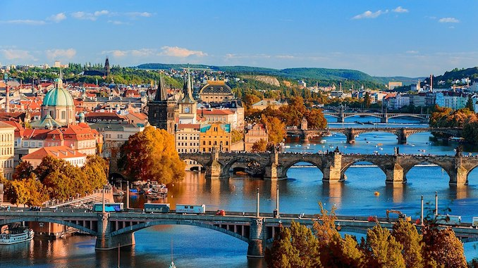 travel phpto to inspire Czech language study
