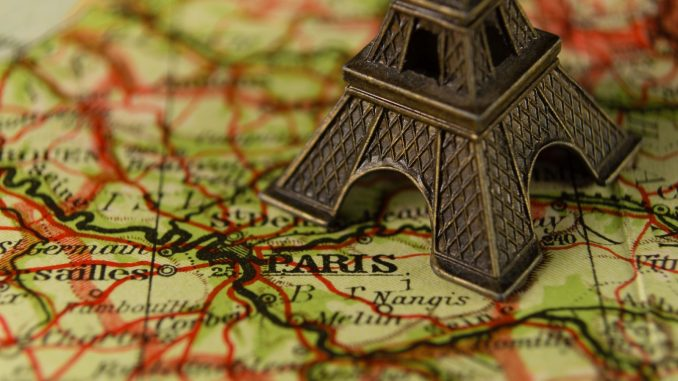 Travel photo to inspire and motivate French language learners