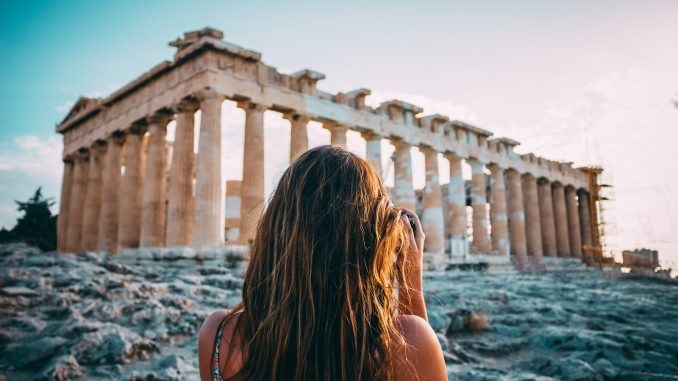 Travel photo to inspire and motivate Greek language learners